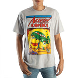 Superman Vintage Action Comics T Shirt - The Hollywood Apparel