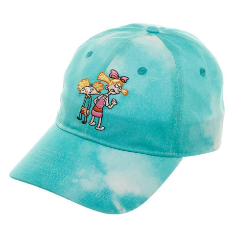 Hey Arnold Hat - Adjustable 90s Cartoon Hat - The Hollywood Apparel