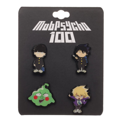 MobPsycho Anime Lapel Pins - The Hollywood Apparel