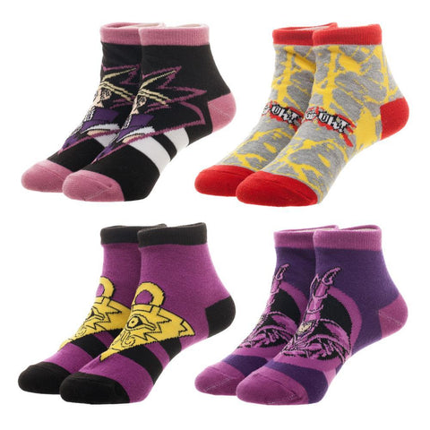 4 Pack of Yu-Gi-Oh Socks - The Hollywood Apparel
