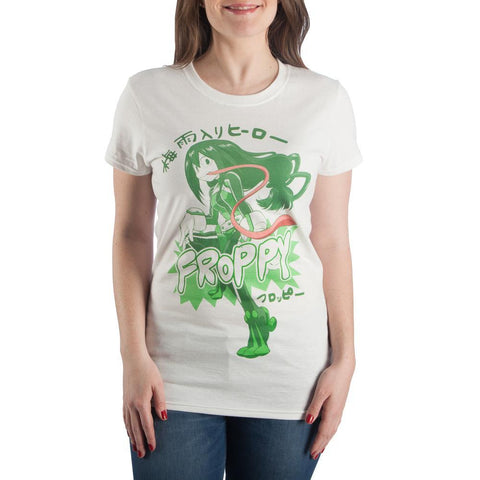 My Hero Academia Froppy Anime  T-shirt - The Hollywood Apparel