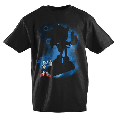 Sonic The Hedgehog Spotlight Youth T-Shirt - The Hollywood Apparel
