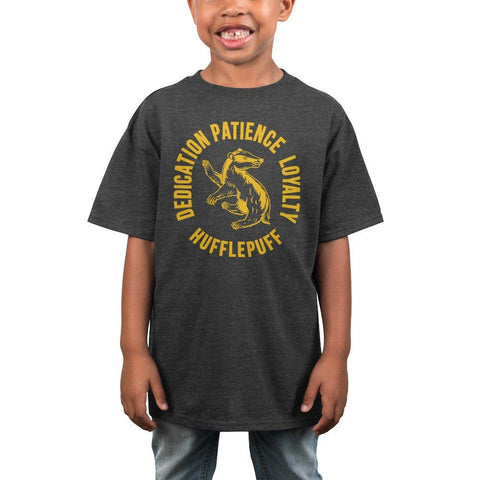 Boys Youth Hufflepuff Shirt Boys Graphic Tee - The Hollywood Apparel