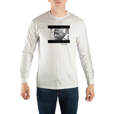 Tupac Poetic Justice Men's Long Sleeve Shirt - The Hollywood Apparel