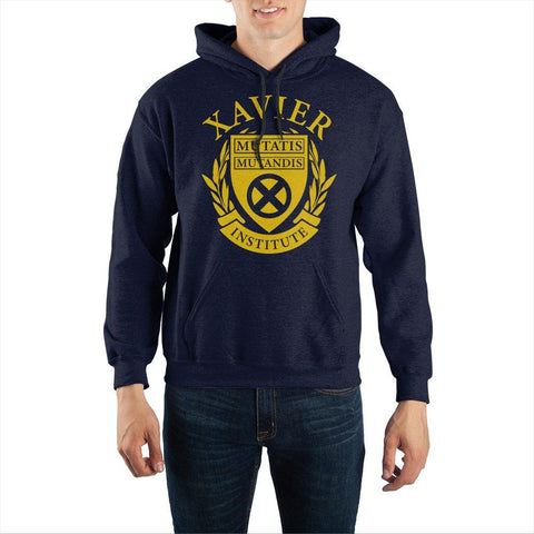 Marvel X-Men Xavier Institute Pullover Hoodie Sweatshirt - The Hollywood Apparel