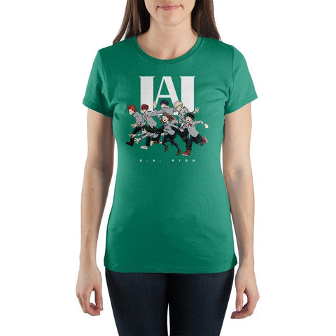 UA High My Hero Academia Shirt Juniors Graphic Tee - The Hollywood Apparel