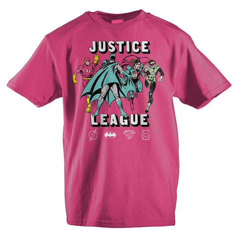 Girls Youth Justice League Clothing Girls Graphic Tee - The Hollywood Apparel