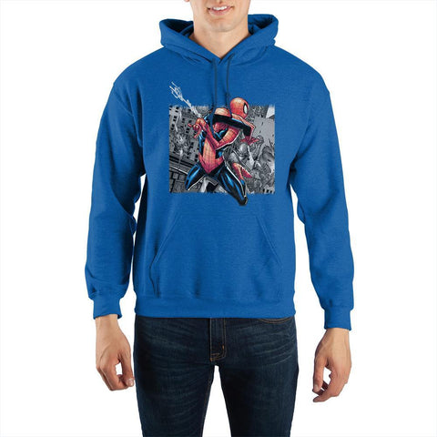 Spider-Man Pullover Hoodie Sweatshirt - The Hollywood Apparel
