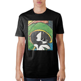 Looney Tunes Marvin Black T-Shirt - The Hollywood Apparel