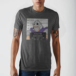 Teenage Mutant Ninja Turtles Shredder Mug Shot T-Shirt - The Hollywood Apparel