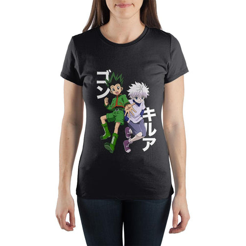 Hunter X Hunter Anime Apparel Juniors Graphic Tee - The Hollywood Apparel