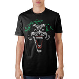 Joker Object Fill Black T-Shirt - The Hollywood Apparel