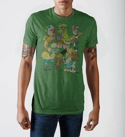 Nick Rewind 90s Group Shot T-Shirt - The Hollywood Apparel