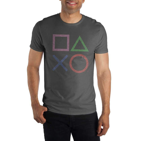 Playstation Buttons Shirt For Men - The Hollywood Apparel