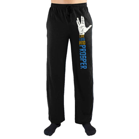 Spock Hand Live Long And Prosper Men's Lounge Pants - The Hollywood Apparel