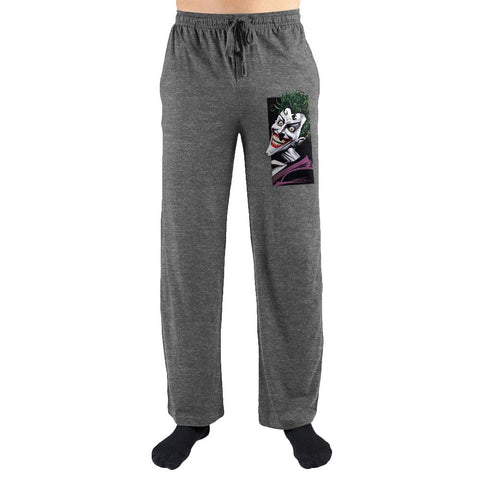 "DC Comics Batman The Joker ""Ha Ha Ha!"" Sleep Pants - The Hollywood Apparel"