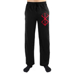 Crunchyroll Berserk Anime Logo Print Mens Loungewear Lounge Pants - The Hollywood Apparel