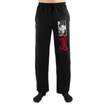 Crunchyroll Berserk Guts Anime Manga Logo Print Mens Loungewear Lounge Pants - The Hollywood Apparel