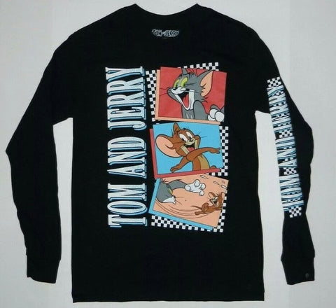 Tom & Jerry Action Scenes Long Sleeve Shirt