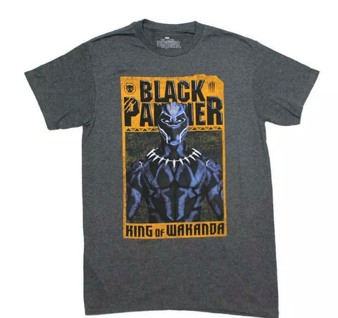 Black Panther Wanted King Shirt - The Hollywood Apparel