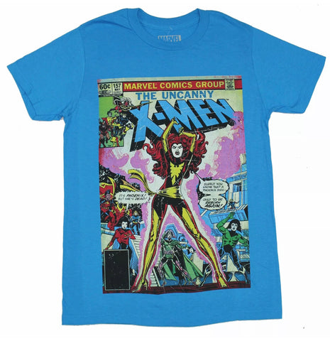 Classic Vintage Phoenix Comicbook Cover X-Men Shirt - The Hollywood Apparel