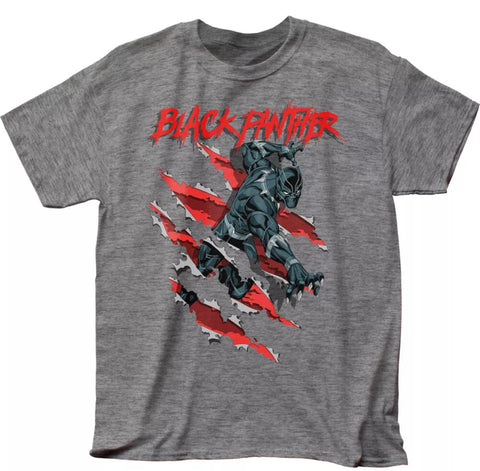 Black Panther Claw Slash T Shirt - The Hollywood Apparel