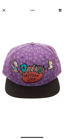 Rocko's Modern Life Pin Hat - The Hollywood Apparel
