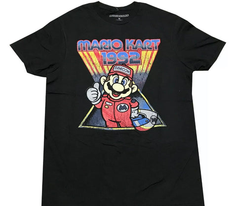 MarioKart Vintage T Shirt - The Hollywood Apparel