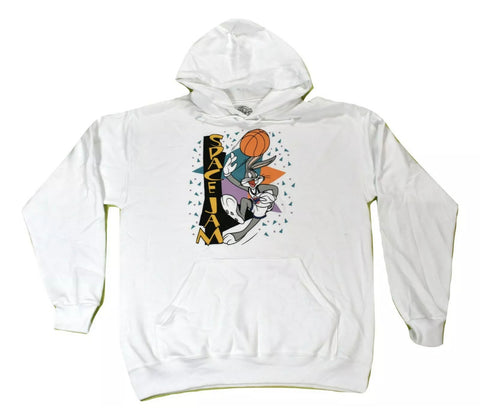 Space Jam Bugs Bunny 90s Hoodie - The Hollywood Apparel