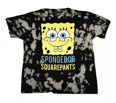 Spongebob Tie Dye Shirt - The Hollywood Apparel