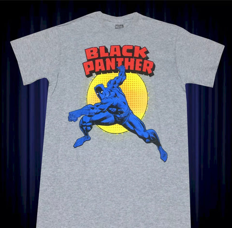 Black Panther Morning Punch Shirt - The Hollywood Apparel