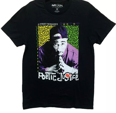 Tupac 90s Psychadelic T Shirt - The Hollywood Apparel