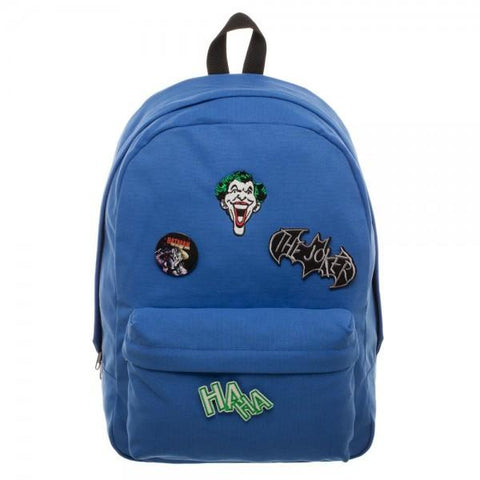 DC Comics Joker DIY Patch It Backpack - The Hollywood Apparel