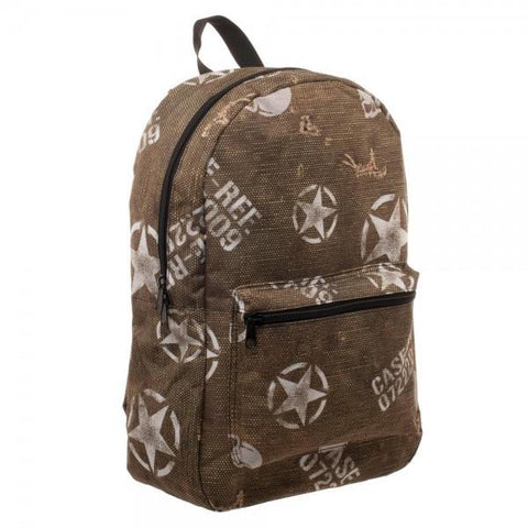 Call Of Duty WWII All Over Print Backpack - The Hollywood Apparel