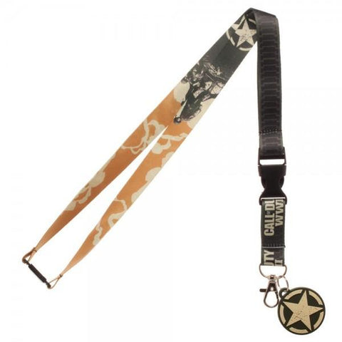 Call Of Duty WWII Lanyard - The Hollywood Apparel