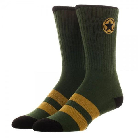 Call Of Duty WWII Crew Socks - The Hollywood Apparel