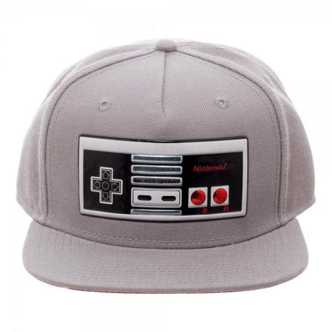 Nintendo Controller Chrome Weld Snapback - The Hollywood Apparel