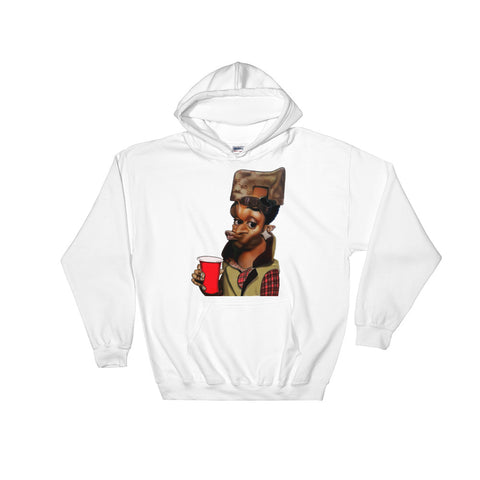 Meme Exaggeration Hooded Sweatshirt - The Hollywood Apparel