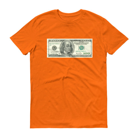 Old Classic  Hundred Dollar Bill Conceited Meme Tee - The Hollywood Apparel