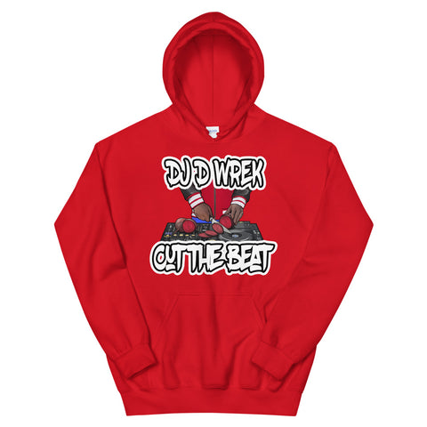 Cut The Beat Hooded Sweatshirt Pullover Hoodie - The Hollywood Apparel