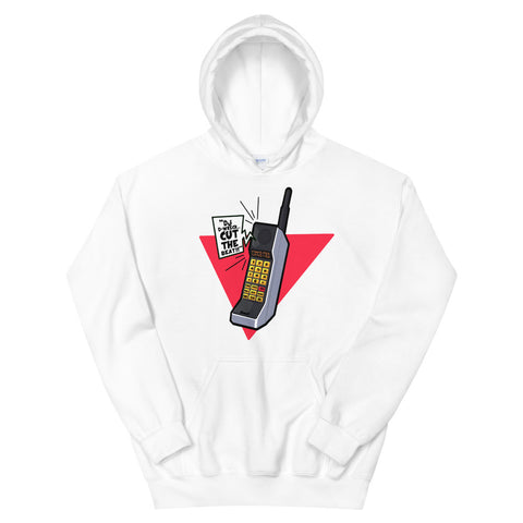 Cut The Beat 80's Cell Phone Hoodie - The Hollywood Apparel