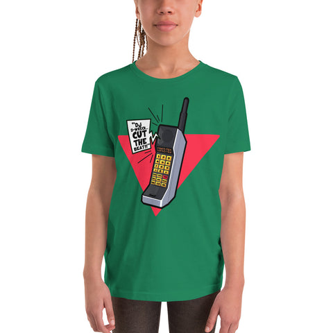Cut The Beat Youth Short Sleeve T-Shirt - The Hollywood Apparel