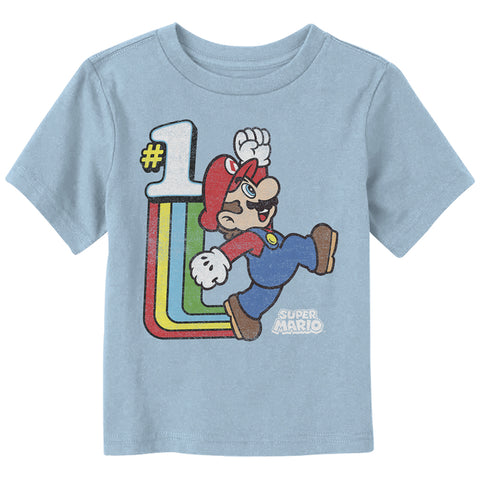 Old School Super Mario Toddler T Shirt - The Hollywood Apparel