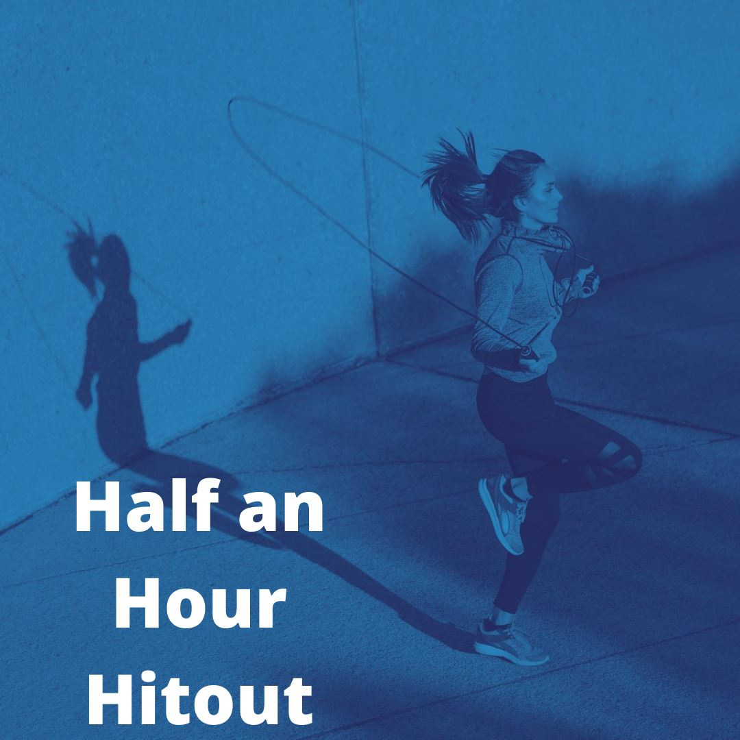 HALF AN HOUR HOME HIT OUT - SKIPPING WORKOUT