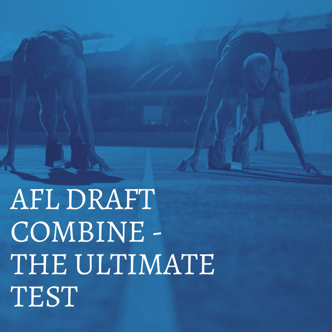 AFL DRAFT COMBINE - THE ULTIMATE TEST