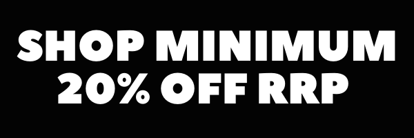 Minimum 20% OFF RRP