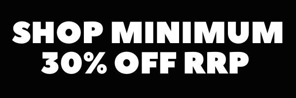 Minimum 30% OFF RRP