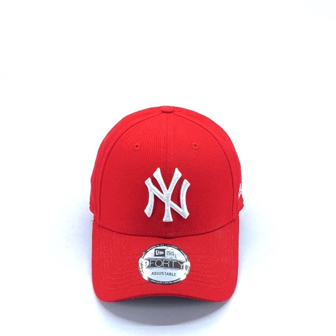 New York Yankees Red 9FORTY Hats New Era
