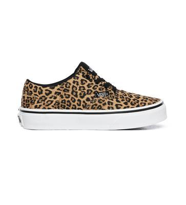 Vans Youth Doheny (Cheetah) - Black/White SP-Footwear-Kids Vans