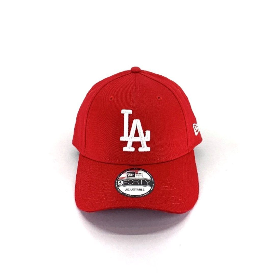 Los Angeles Dodgers Red 9FORTY Hats New Era